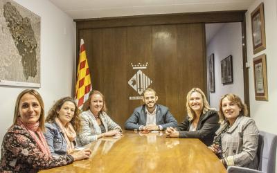 L'Ajuntament i ADE Vallès coincideixen en la importància de treballar en xarxa i exploraran futures col·laboracions