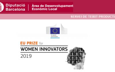 Premi Europeu per a dones Innovadores 2019