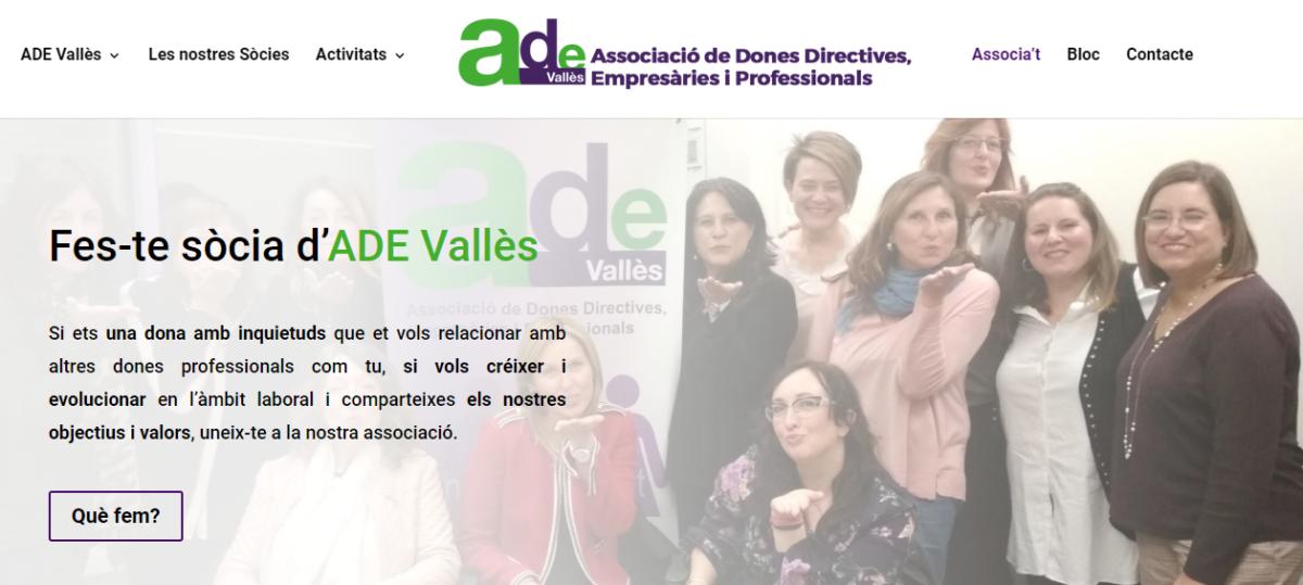 Fes-te sòcia d'ADE Vallès_Sandra Cordone Acierta Consulting