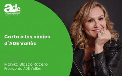 Carta a les sòcies · Mónika Blasco Racero