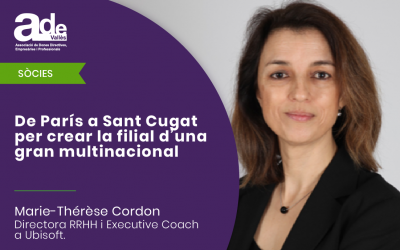 De París a Sant Cugat per crear la filial d'una gran multinacional · Marie-Thérèse Cordon